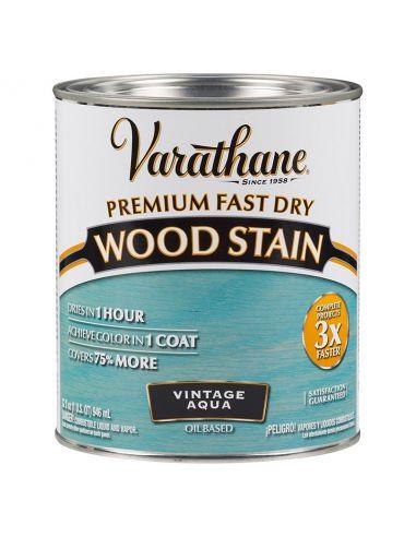Масло для дерева Varathane Fast Dry Wood Stain (0.946) Винтаж аква