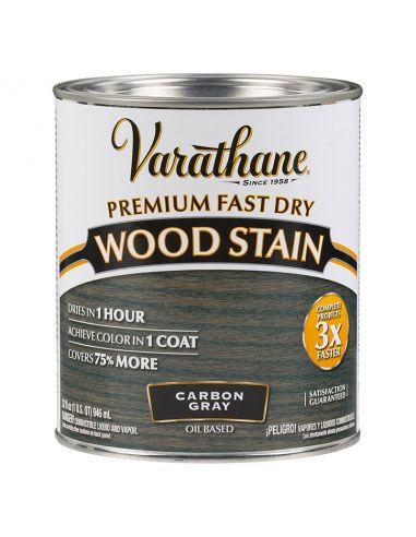 Морилка масляная Varathane Fast Dry Wood Stain (0.946л) Угольный серый