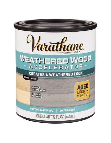 Состав для искусственного состаривания древесины Varathane Weathered Wood Accelerator (0.946л)