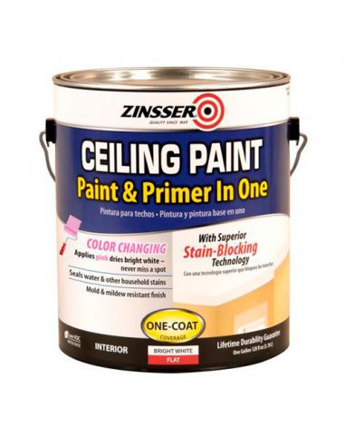Краска для потолка Zinsser Ceiling Paint - Paint and Primer in One (3.78л)