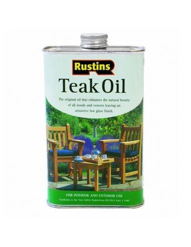 Тиковое масло для дерева Teak Oil Rustins 250 мл.