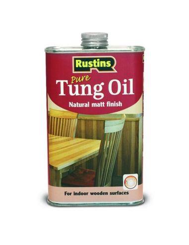 Тунговое масло для дерева Tung Oil Rustins 500мл