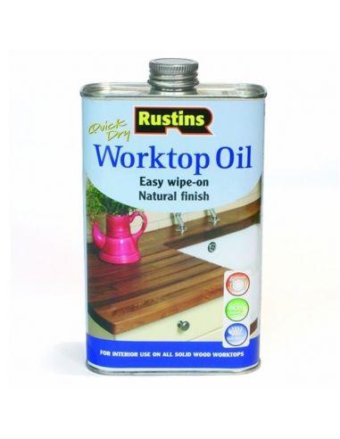 Масло для рабочих поверхностей Worktop Oil Rustins 500мл