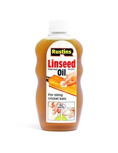 Льняное масло Linseed Oil Rustins 500мл