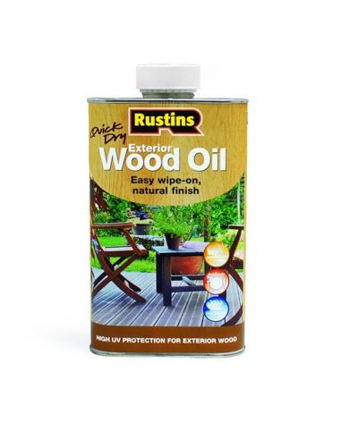 Фасадное масло QD Exterior Wood Oil Rustins 1л