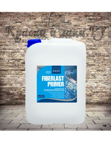 Грунтовка под гидроизоляцию Kiilto FiberLast Primer 1л
