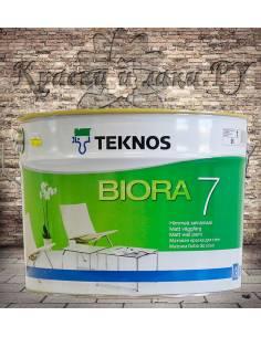 Краска TEKNOS Biora 7 9л