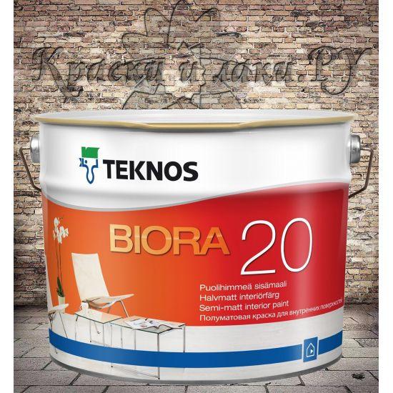 Краска TEKNOS Biora 20 9л