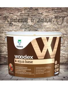 Грунтовка Woodex Aqua Base (Вудекс Аква База) Teknos 9л.