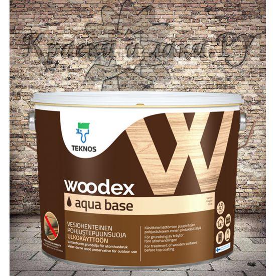 Woodex Aqua Base (Вудекс Аква База) Teknos 3л.