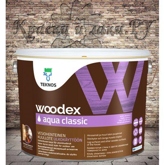 Woodex Aqua Classic (Вудекс Аква Классик) Teknos 9л.