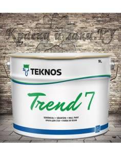 Краска Teknos Trend 7 (Тренд 7) 9л.