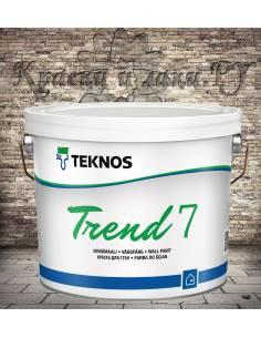 Краска TEKNOS Trend 7 матовая 2,7л.