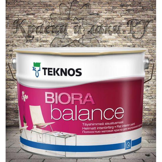 Краска TEKNOS Biora Balance 9л.