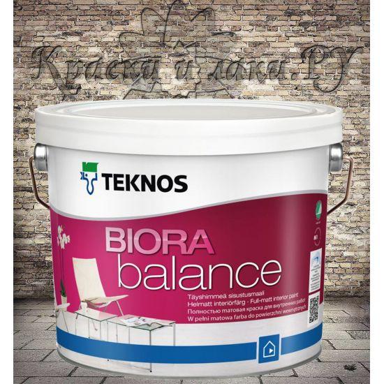 Краска акриловая TEKNOS Biora Balance для детской матовая 2,7л