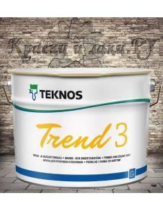 Краска Teknos Trend 3 (Тренд 3) 9л.