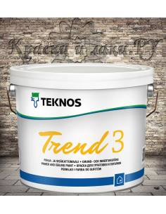 Краска Teknos Trend 3 (Тренд 3) 2,7л.