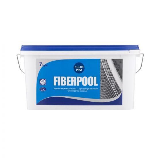Гидроизоляция Kiilto Fiberpool 7кг
