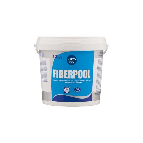 Гидроизоляция Kiilto Fiberpool 1.3кг