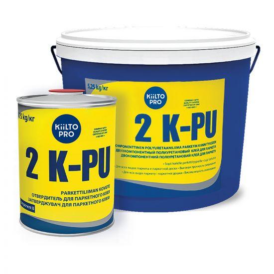 Двухкомпонентный клей для паркета Kiilto 2 K-PU