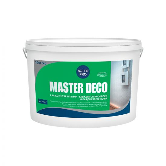 Клей для стеклообоев Kiilto Master Deco 10кг