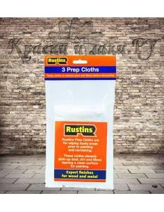 Ветошь для подготовки поверхности Rustins Prep Cloths 3шт