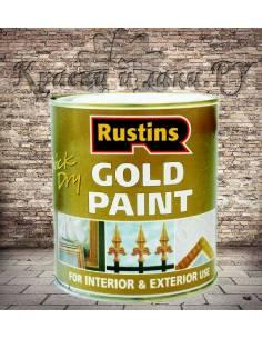 Золотая краска Rustins Gold Paint 100мл