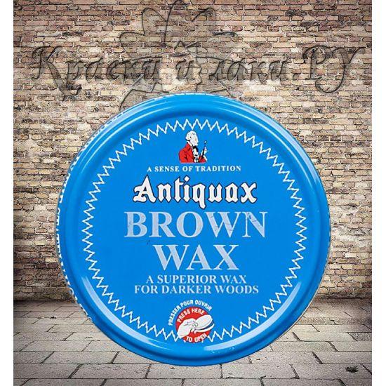 Воск для дерева Antiquax Brown Wax Коричневый 100 мл