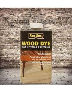 Rustins Wood Dye - морилка для дерева Dark Ebony (Эбеновое дерево) 1л