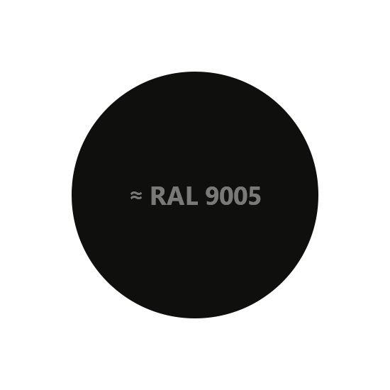 Термостойкая эмаль Elcon черная до +1000°, 520мл