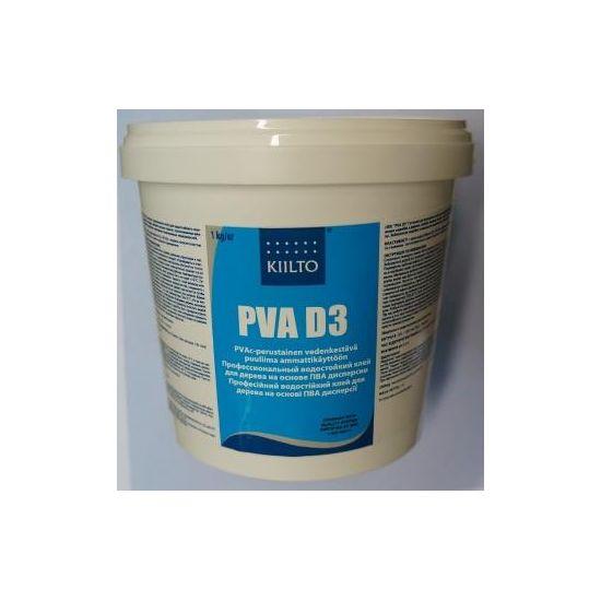 Водостойкий клей ПВА Kiilto PVA D3 1кг