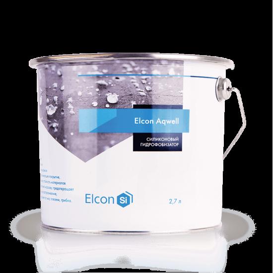 Силиконовый гидрофобизатор для камня Elcon Aqwell 2.7л