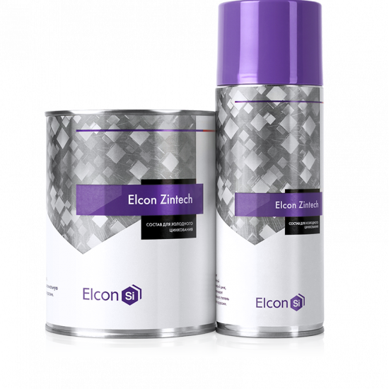 Состав для холодного цинкования Elcon Zintech 1кг