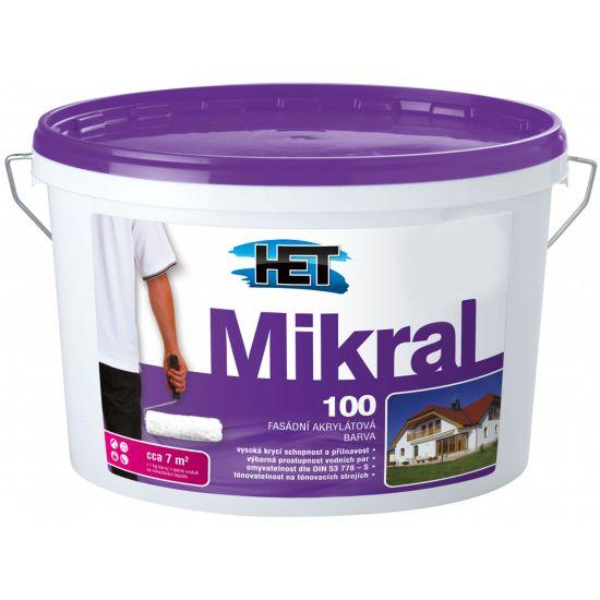 Фасадная краска Mikral 100, 10л