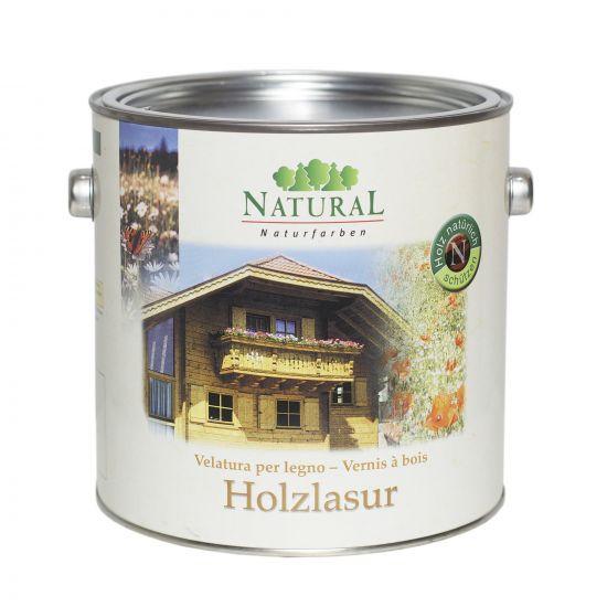 Масло-лазурь для дерева Natural Holzlasur 2,5л