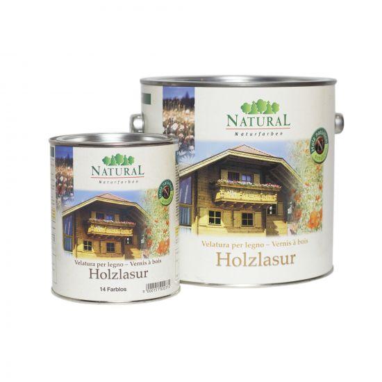 Масло-лазурь для дерева Natural Holzlasur 10л