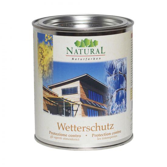 Масло для наружных поверхностей Natural Wetterschutz 0,75л