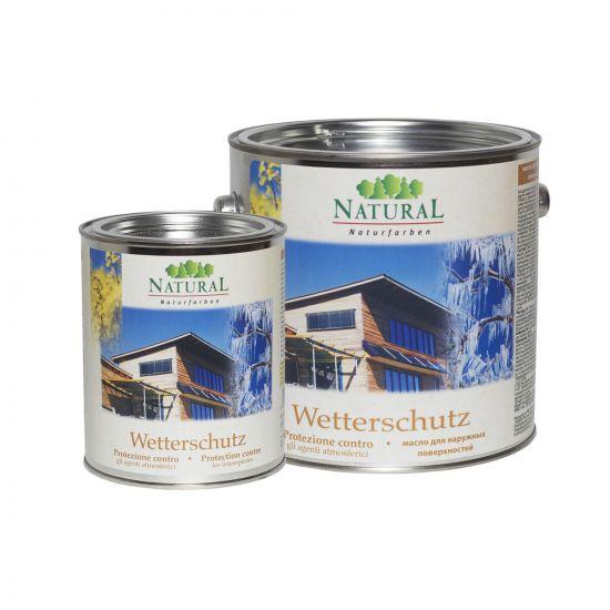 Масло для наружных поверхностей Natural Wetterschutz 10л