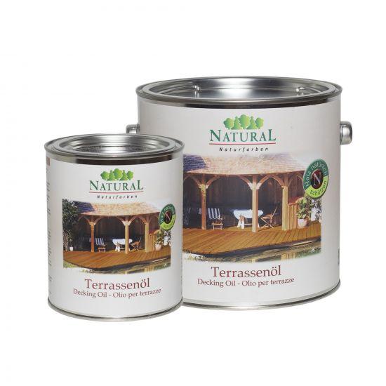 Масло для террас Natural Terrassenol 2,5л