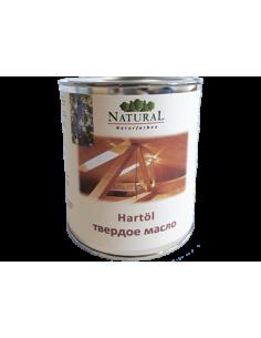 Твердое масло Natural Hartol 0,75л