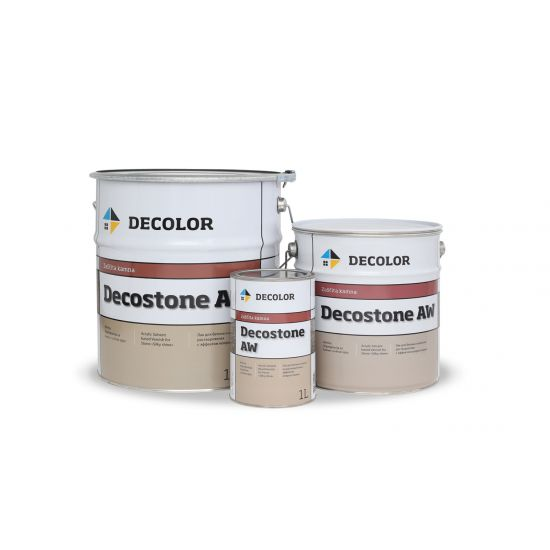 """Лак-пропитка для камня (эффект """"мокрый камень"""") Decolor Decostone AW 4л"""