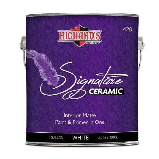 Краска Richard's Paint Signature Ceramic Matte 3.8 л