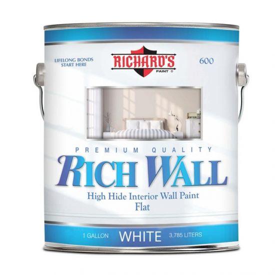 Краска для внутренних работ Richard's Paint Rich Wall 600 3.8 л