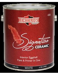 Краска для внутренних работ Richard's Paint Signature Ceramic Eggshell 3.8 л