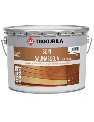 Лак для саун и бань Тиккурила Супи Саунасуоя / Tikkurila Supi Saunasuoja 9л.